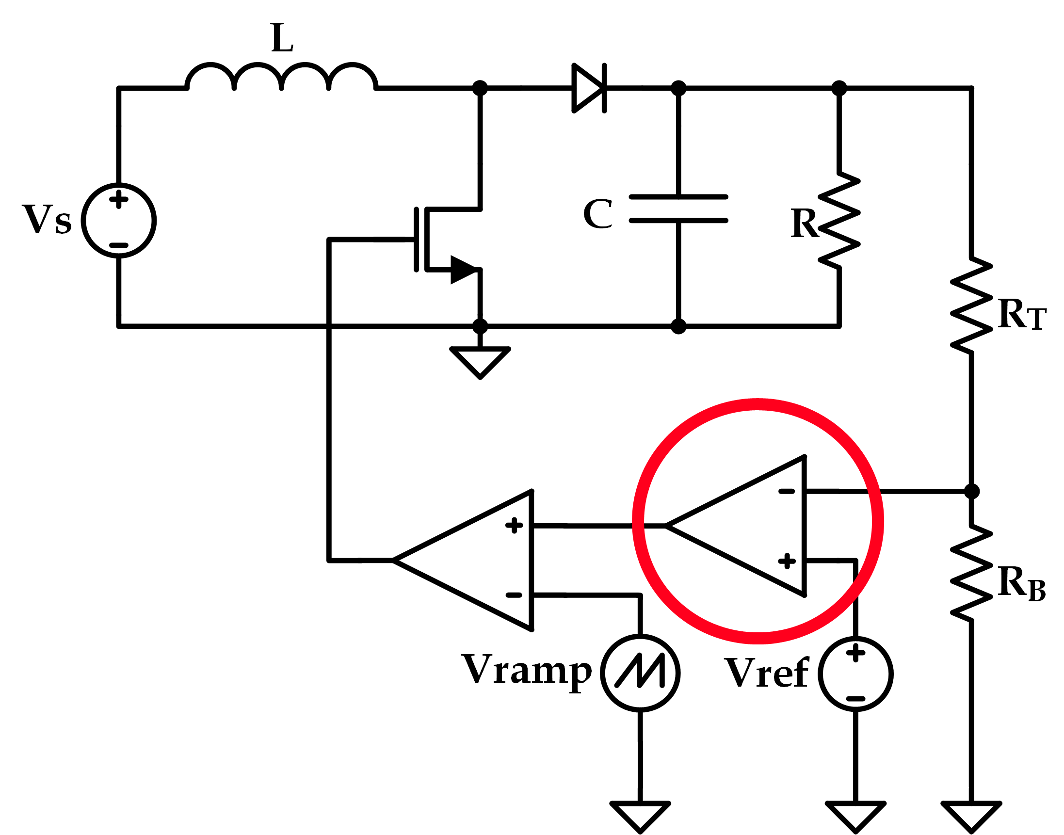 Boost Circuit Schematic