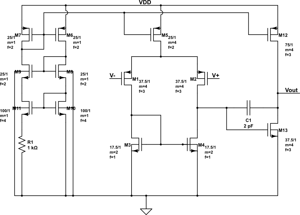 Final Opamp Architecture
